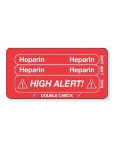 06-31-5600 Heparn Piggyback Label