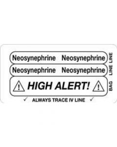 06-31-5635 Neosynephrine/High Alert Piggyback Label