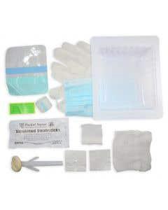 06-51-836 Pocket Nurse® Central Line Dressing Tray with ChloraPrep® - (ships ORMD)