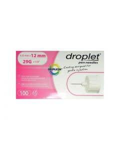 06-82-0533P Droplet Insulin Pen Needles