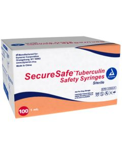 06-82-8939 SecureSafe Tuberculin Safety Syringe