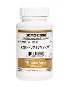 06-93-0068 Demo Dose® Azithromycn 250 mg - 100 Pills/Bottle