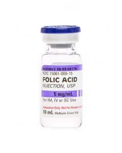 06-93-0417 Demo Dose ® Folc Acd 5mg/mL  10mL