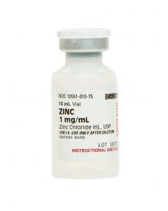 06-93-0418 Demo Dose® Znc  Chlorid 1 mg/mL 10 mL