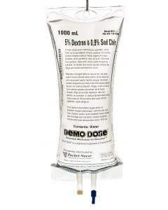 06-93-1010 Demo Dose® 5% Dextros and 0.9% Sodim Chlorid IV Fluid