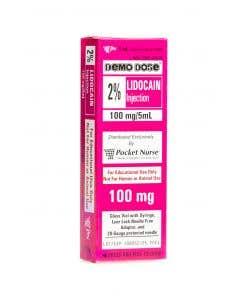 06-93-1101 Demo Dose® Lidocain 2% 5mL syringe