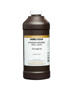 06-93-1337 Demo Dose® Diphenhydramin 12.5mg/5mL Pint