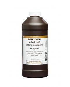 06-93-1354 Demo Dose® Apap (Acetaminophn) 160mg/5mL Pint