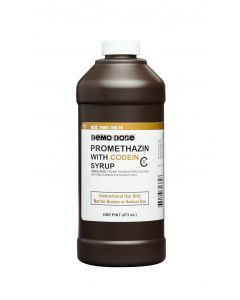06-93-1362 Demo Dose® Promethazin with Codein Syrup 473mL Pint