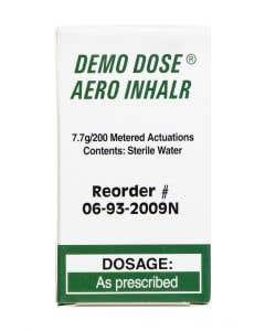 06-93-2009 Demo Dose® Aero Inhalr (Ships ORMD)