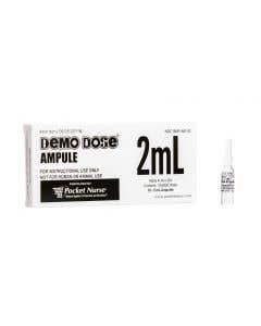 06-93-2011 Demo Dose® Clear Ampule