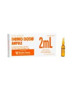 06-93-2013P Demo Dose® 2mL Amber Ampule