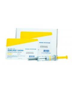 06-93-2524 Demo Dose® Enoxaprn Lovenx 40mg 0.4mL 0.4mL Syringe