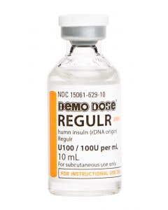 06-93-3003 Demo Dose®  Regulr Insuln  100 units mL 10mL