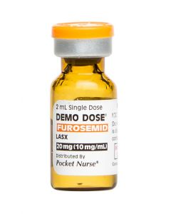 06-93-3010P Demo Dose® Furosemid Lasx 10 mg/mL 2 mL