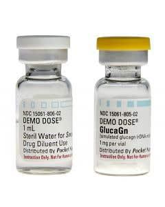 06-93-3130 Demo Dose® Glucagn Kit 1mg - 2 Vial Set