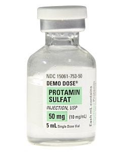 06-93-3226 Demo Dose® Protamin Sulfat Injection 50mg/5mL 5mL