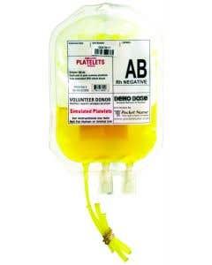 06-93-6200 Demo Dose® Simulated Platelets AB Rh Negative