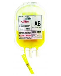 06-93-6204 Demo Dose® Simulated Platelets AB Rh Positive