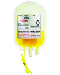 06-93-6205 Demo Dose® Simulated Platelets O Rh Positive