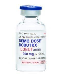06-93-6919 Demo Dose® Dobutrx DOBUTamin 250mg/20mL 20mL