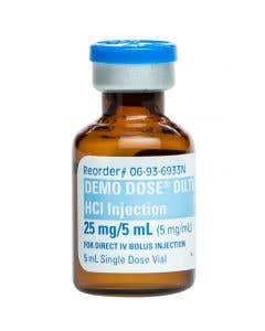06-93-6933 Demo Dose® DillTIAZm Hydrochlorid (Cardizm) 5mg/mL 5 mL