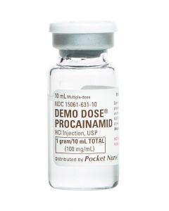 06-93-6936 Demo Dose® Procainamid Procn 100 mg mL/10mL