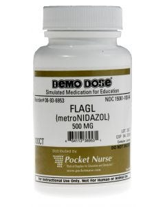 06-93-6953 Demo Dose® Metronidazol/Flagl 500 mg