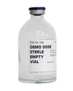 06-93-7762 Demo Dose® Sterile Empty Vial