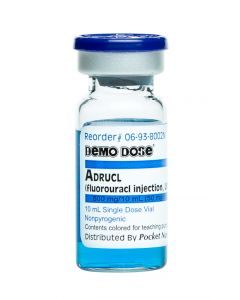 06-93-8002 Demo Dose® Fluorauracl (Adrucl) 10 mL 500 mg/10 mL