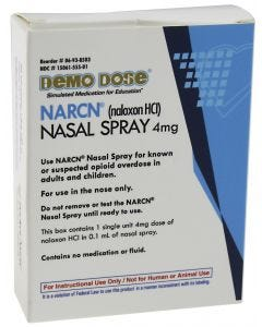 06-93-8503 Demo Dose® Simulated NARCN Nasal Spray 4mg