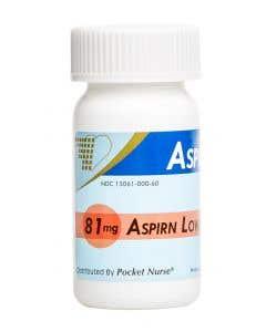 06-93-9026 Demo Dose® Bottle of Aspirn 81mg