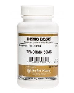 06-93-9030 Demo Dose® Atenoll (Tenormn) 50 mg- 100/Bottle