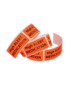 06-PK-5294 High Alert Labels 10/Pack
