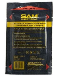 07-41-3312 SAM Chest Seal without Valve