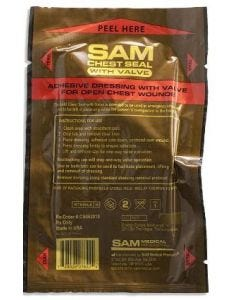 07-41-3313 SAM Chest Seal with Valve