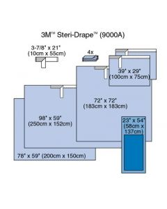 08-84-9000 Steri-Drape Surgical Pack