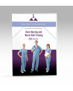 09-09-9762 Basic Nursing and Nurse Aide Training 5 DVD Series - Now with Closed Caption  **Non-Returnable