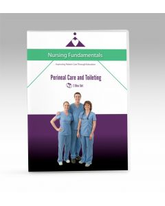 09-09-9767 Perineal Care and Toileting DVD - Now with Closed Caption  **Non-Returnable