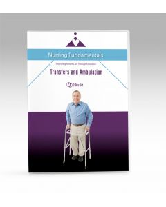 09-09-9768 Transfers and Ambulation DVD 2 Disk Set -Now with Closed Caption **Non-Returnable
