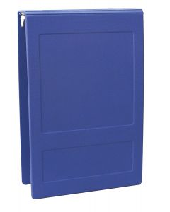 "09-31-5003-BLU 1"""" Molded Ring Binder Top Open"