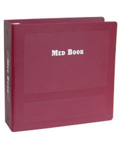 09-31-5025-BURG Medication Book