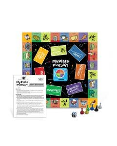09-79-5121 MyPlate Pursuit Board Game