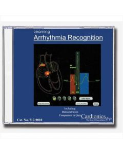 09-79-9010 Learning Arrhythmia Recognition CD Non-Returnable