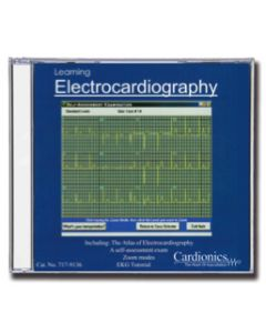 09-79-9136 Learning Electrocardiography CD Non-Returnable