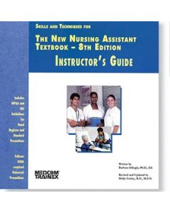 09-83-531 New Nursing Assistant Instructor's Guide 8th Edition