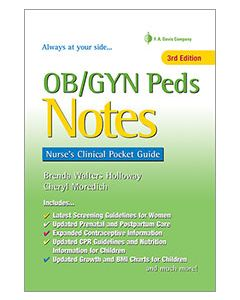 09-83-5863 OB/GYN Peds Womens Health Notes