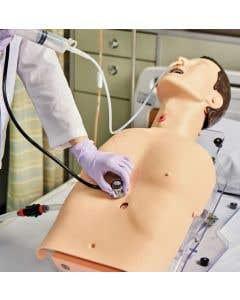 11-81-2208 Tube Feeding, Tracheostomy Care, and Suction Training Model
