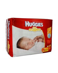12-55-2238 HUGGIES® Newborn Gentle Care® Diapers Ultra Trim