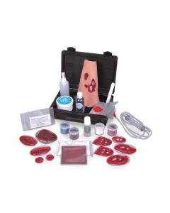 14-17-4519 Simulaids Basic Casualty Moulage Simulator Kit